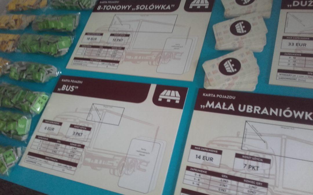 Gra planszowa – poznanie procesów logistycznych poprzez zabawę