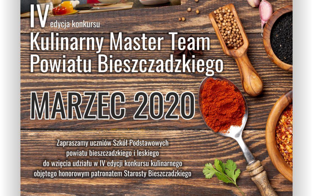 """""""Kulinarny Master Team Powiatu Bieszczadzkiego"""""""